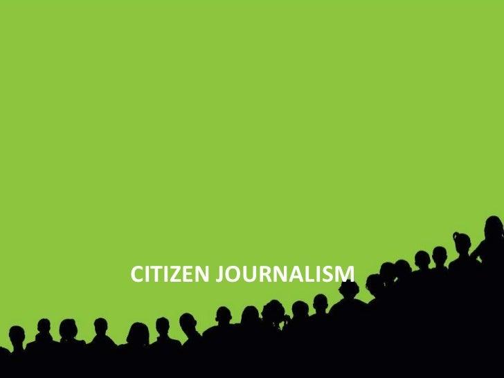 """مواقع المشاركة الاجتماعية<br />و<br />""""ويكيبيديا""""<br />صحافة المواطن <br />CITIZEN JOURNALISM <br />"""