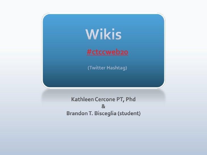 Wiki Presentation2009a