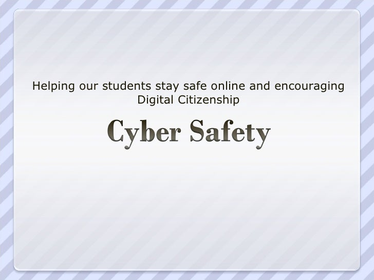 Wiki Presentation Cyber Safety