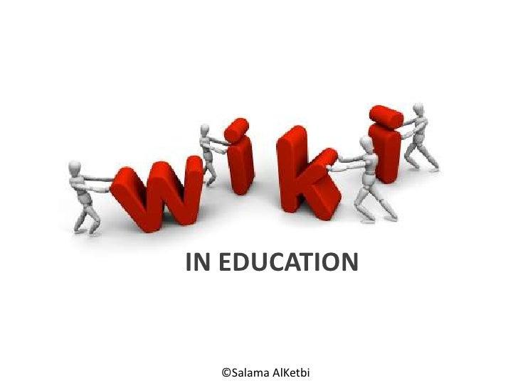 IN EDUCATION <br />©SalamaAlKetbi<br />