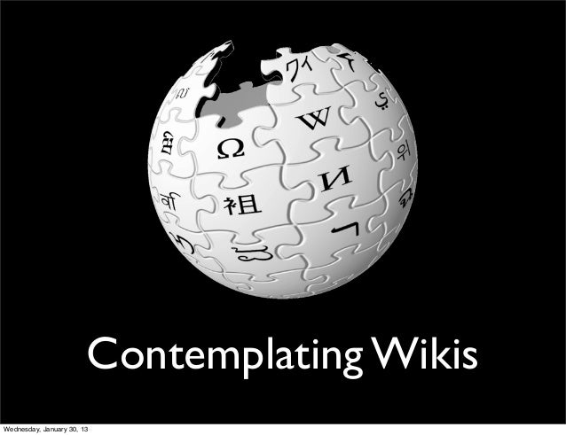 Intro to Wikis and More on Distance Collaboration
