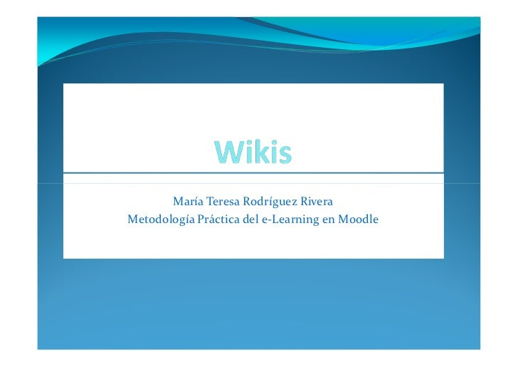 Wikis pdf