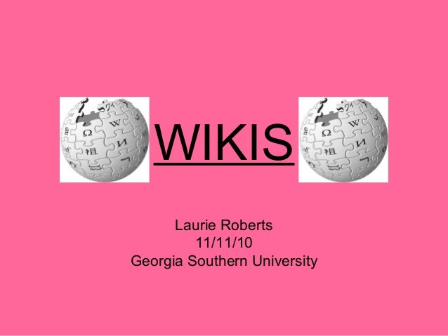 Wikis powerpoint