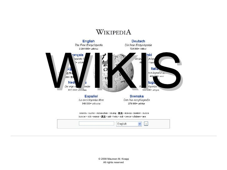 Using wikis in library liaison work: overview & trends