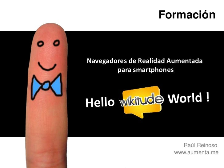 Hello Wikitude World! - I