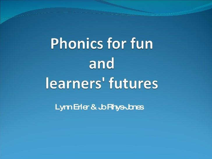 Wiki Version  Phonics For Fun And Learners Futures