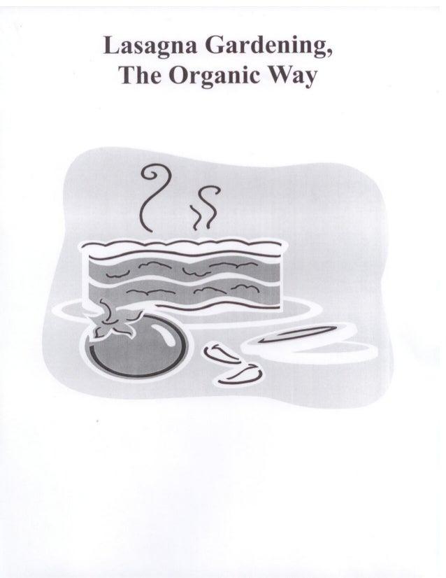 Lasagna Gardening: The Organic Way