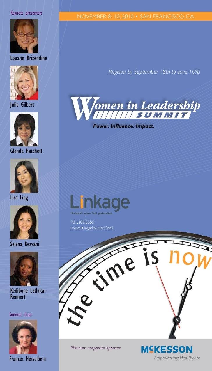 2010 Women in Leadership Summit