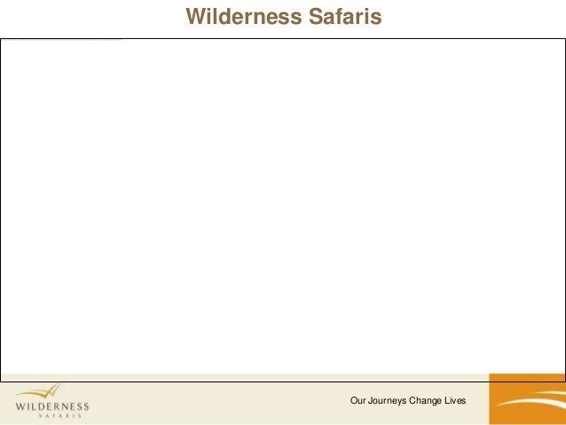 Wilderness Safaris Summary