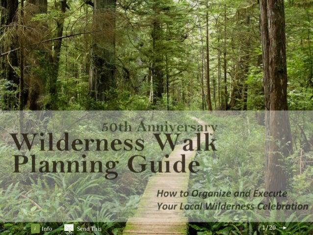 Wilderness Walk Planning Guide