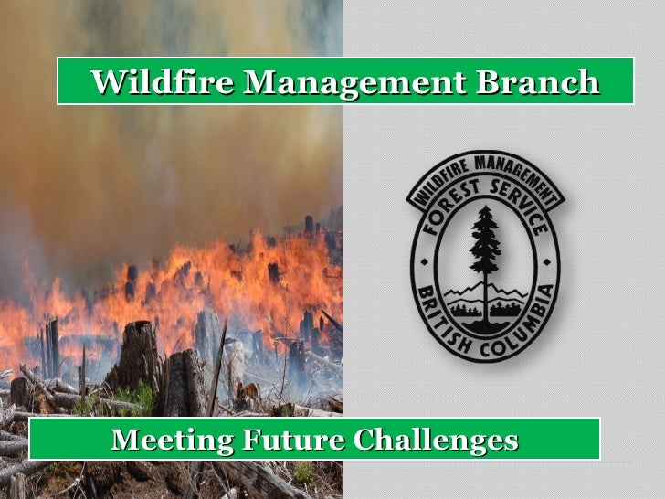 Wildfire Management BranchMeeting Future Challenges