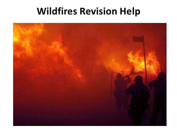 Wildfires Revision Help<br />