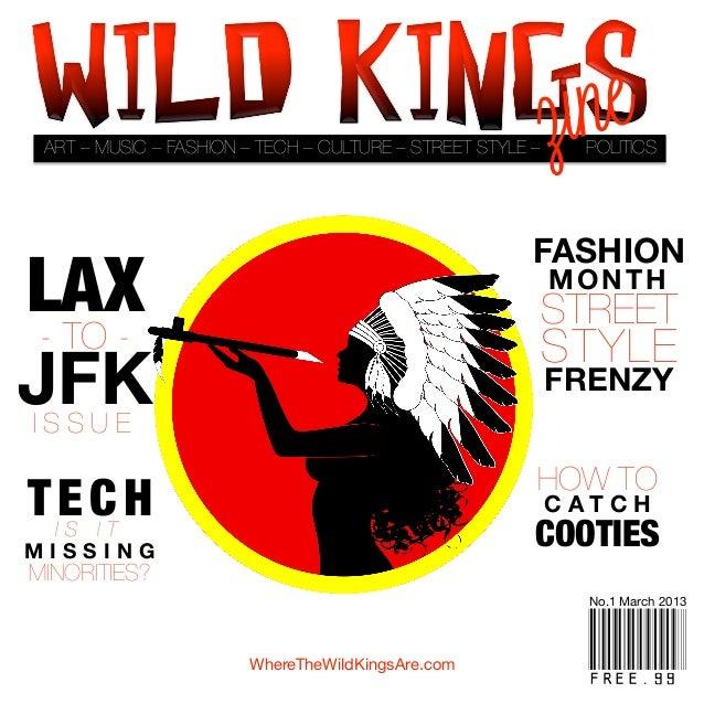 Wild kings Zine Issue No. 1