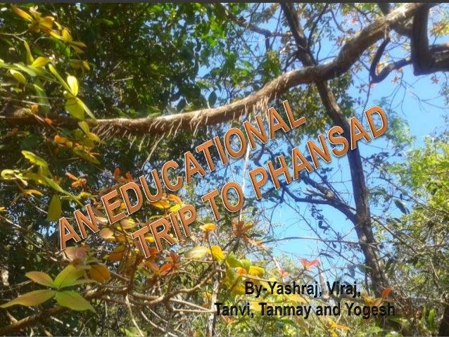 Wildlife sanctuary of Phansad