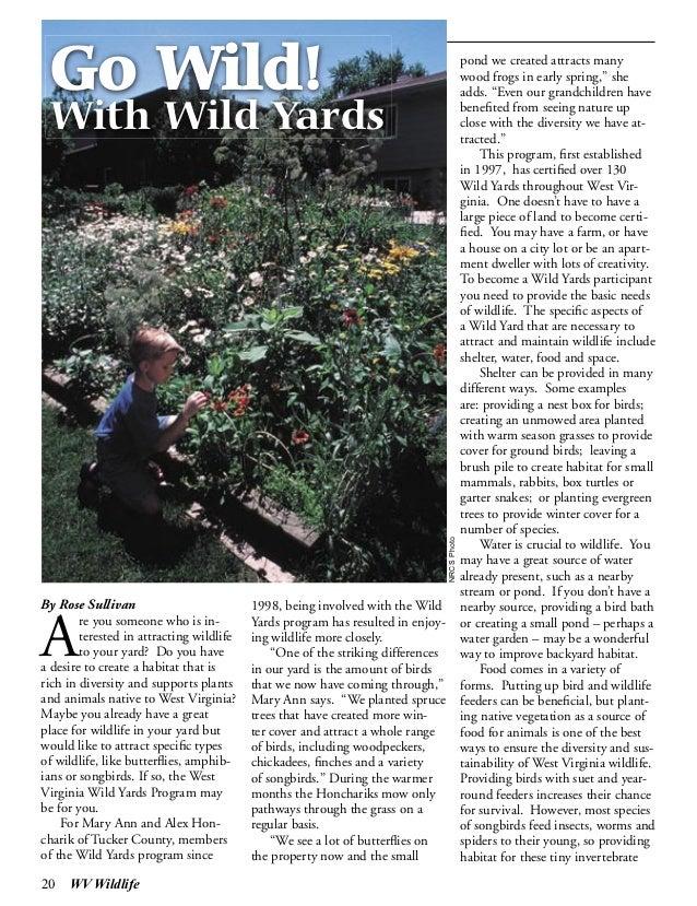 Go Wild with Wild Yards - West Virginia