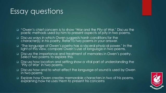 English Exam - poetry essay?