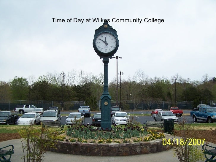 Time of Day at Wilkes Community College