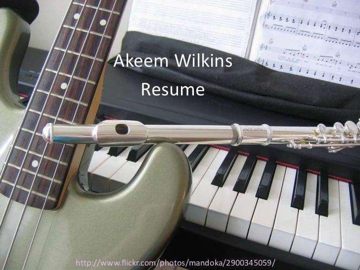 Wilkins, akeem visual resume