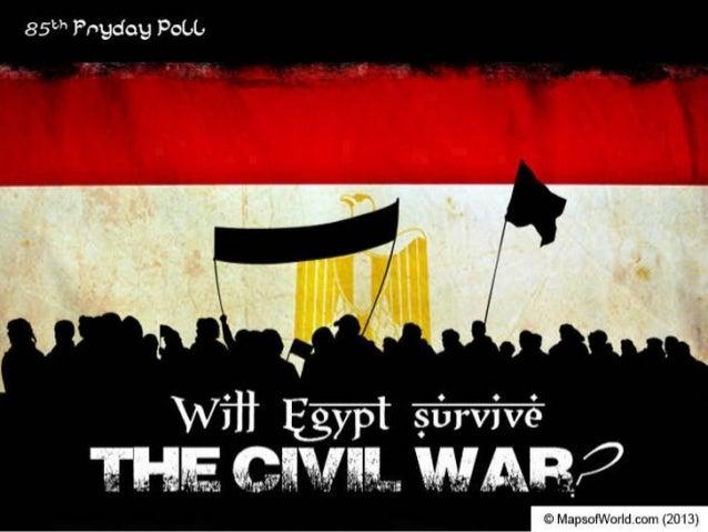 Will Egypt Survive The Civil War?