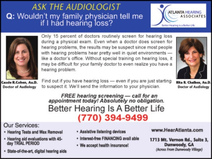 Will My Doctor Tell me If I Have Hearing Loss?