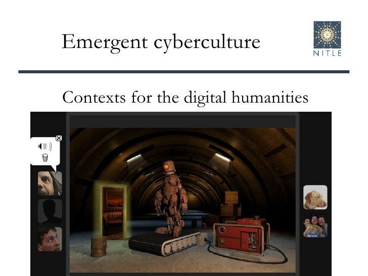 Willamette digital humanities seminar 2009, part 1