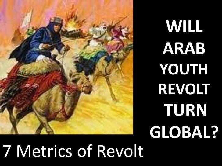 Will arab youth revolt turn global