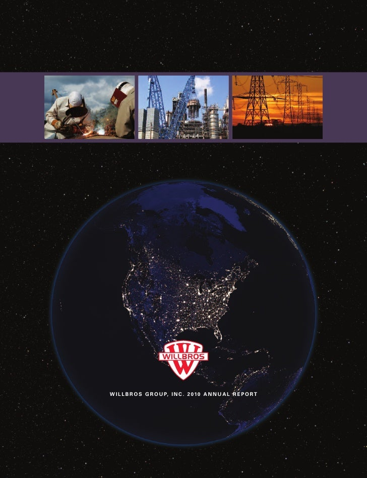 Willbros 2010 Annual Report