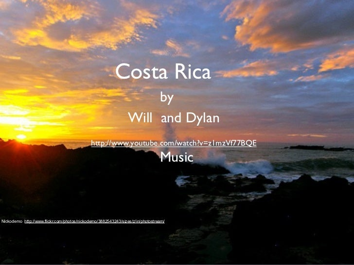 Costa Rica                                                                     by                                         ...