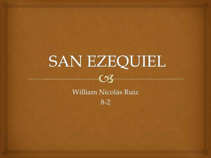 William Nicolás Ruiz        8-2