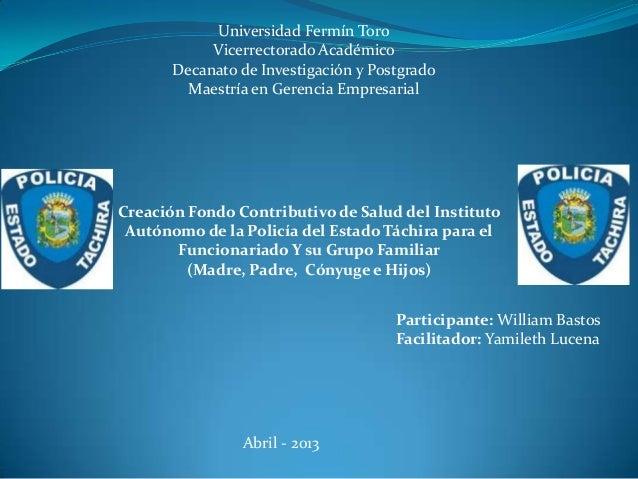 Universidad Fermín ToroVicerrectorado AcadémicoDecanato de Investigación y PostgradoMaestría en Gerencia EmpresarialCreaci...
