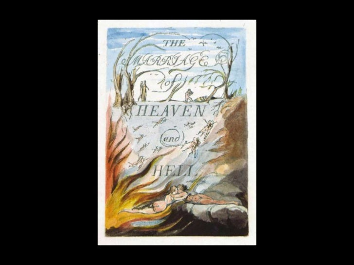 William Blake's Marriage of Heaven and Hell   plates only