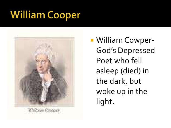 Did William Cowper win any awards.?