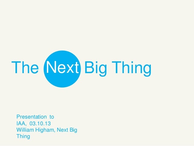 The Next Big Thing: Exploring Tomorrow's Consumers