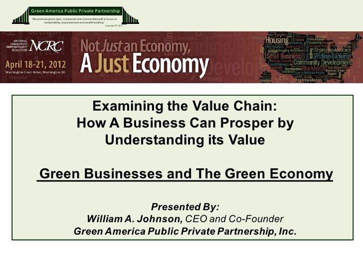 """Green America Public Private Partnership""""We promote green jobs, companies and communities with a focus on        sustainab..."""