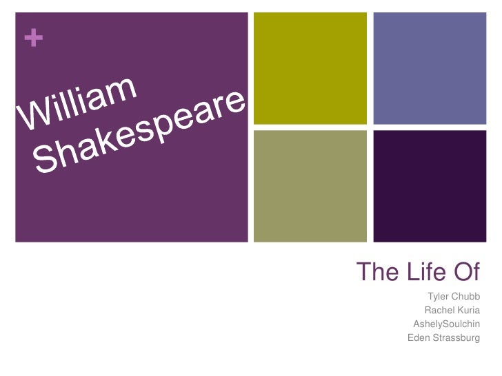 William Shakespeare<br />The Life Of<br />Tyler Chubb<br />Rachel Kuria<br />AshelySoulchin<br />Eden Strassburg<br />