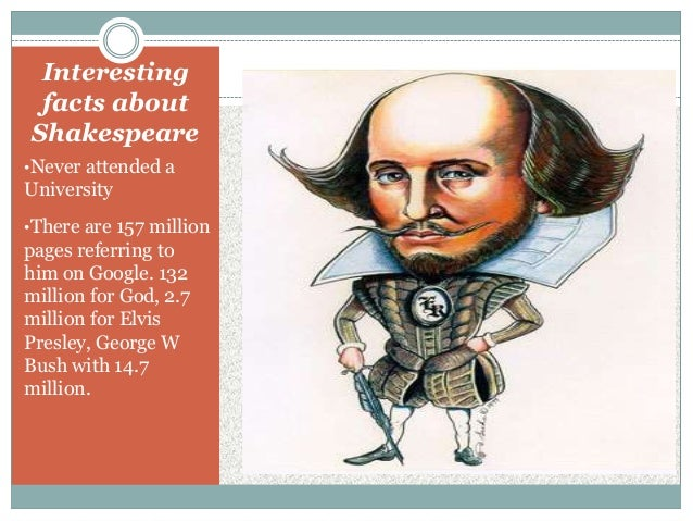 William Shakespeare interesting facts