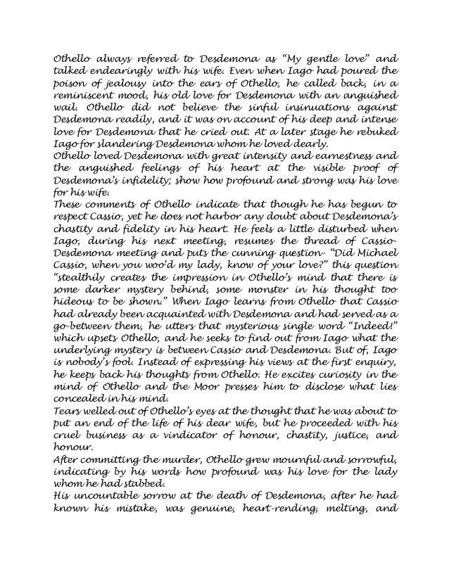 othello analysis of iagos motives