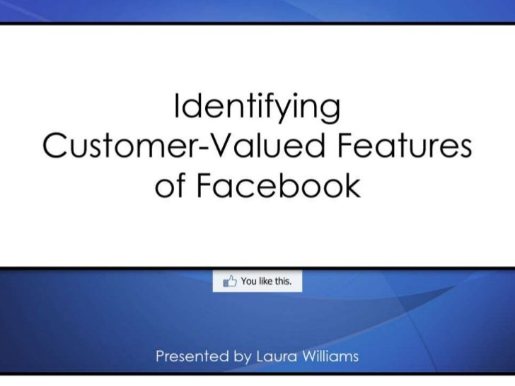 Facebook Features