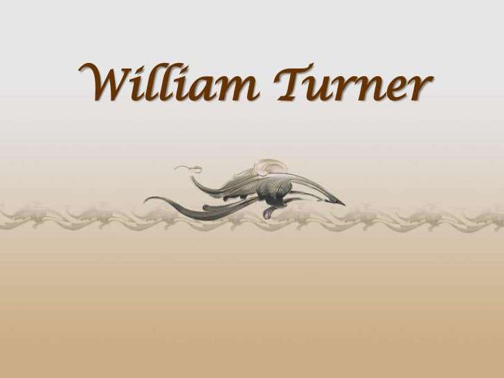 William Turner<br />