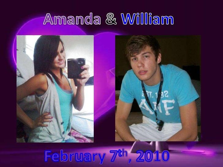 Amanda & William<br />February7th, 2010 <br />