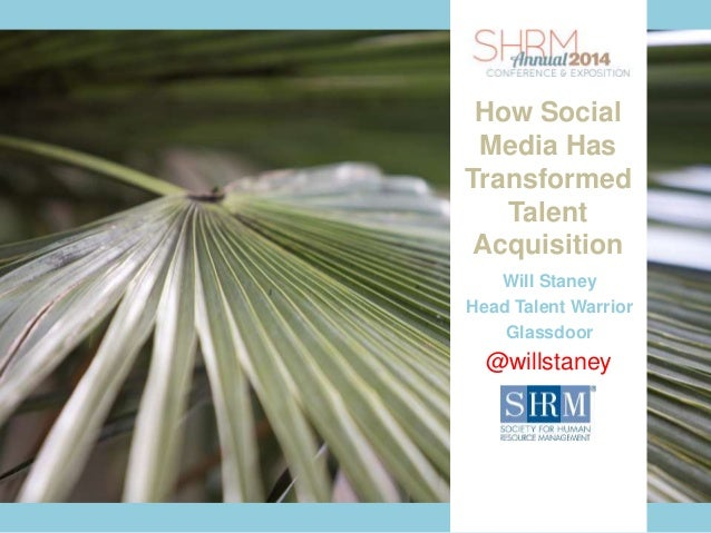 How Social Media Has Transformed Talent Acquisition