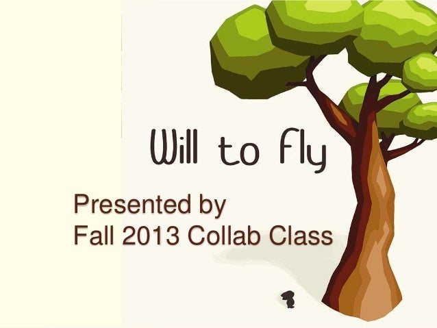 Will To Fly Process Presentation