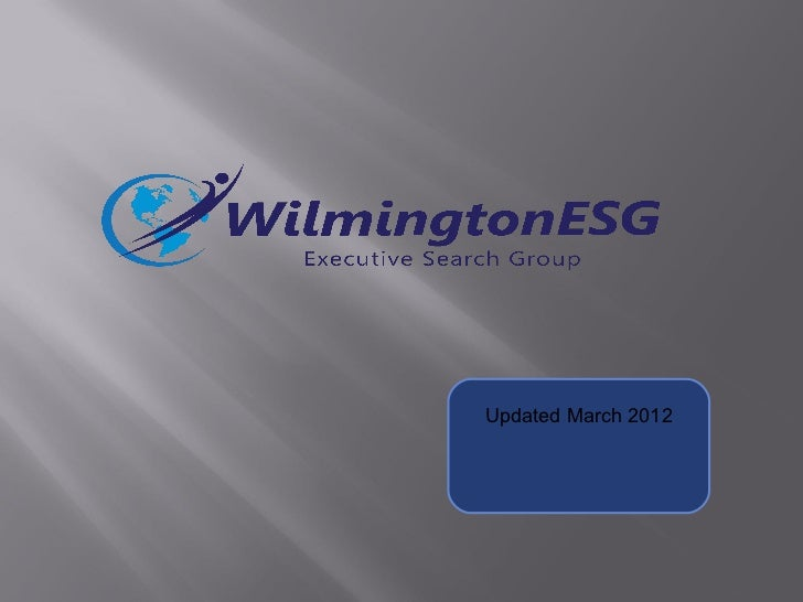 WilmingtonEsg Life Sciences