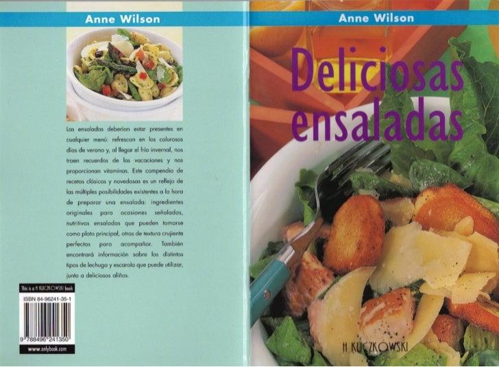 Wilson Anne   Deliciosas Ensaladas