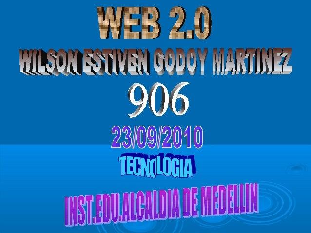 WEB 2.0 HERRAMIENTAS DE EDICION HERRAMIENTAS DE COMUNICACION BLOG WIKIS PAGINA WEB Blogger Wordpress La coctelera Wikispac...