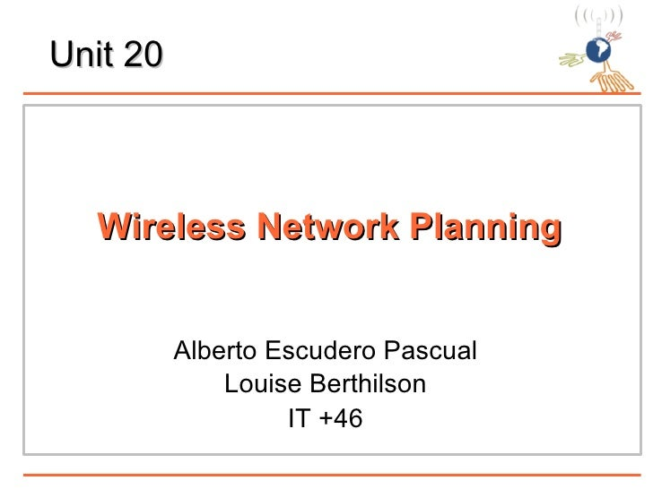 Wimax and Network planning