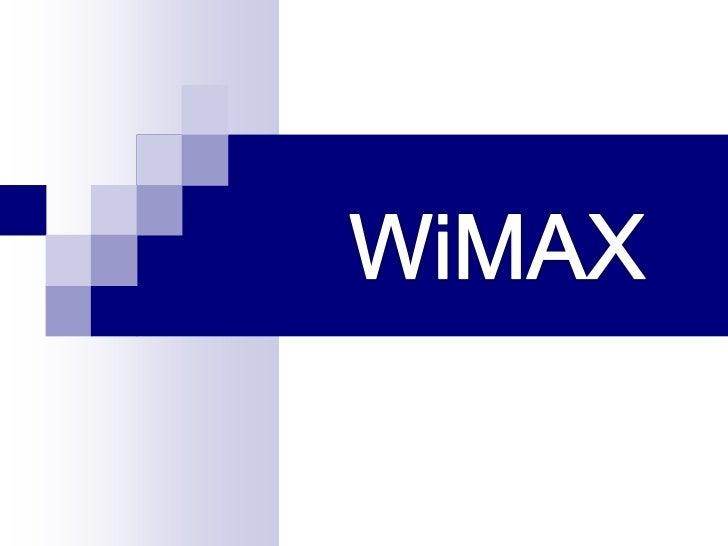 Wi max by pankaj jangid