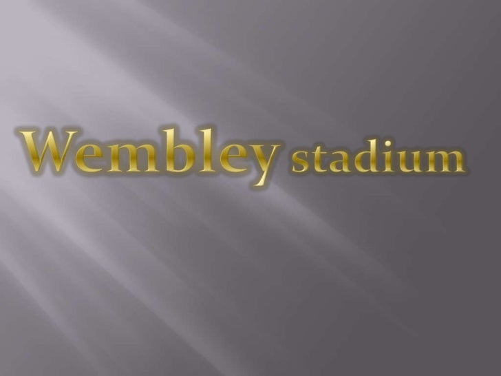 Primarily a football venue, Wembley is owned by The Football Association(The FA) Wembley National Stadium Limited, and hos...