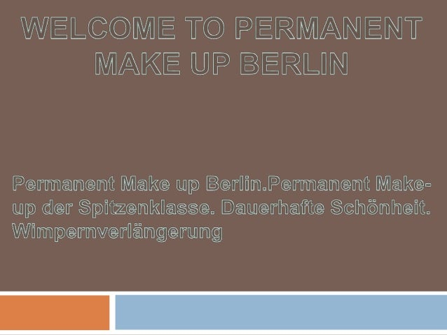 Wimpernverlaengerung   permanent make up