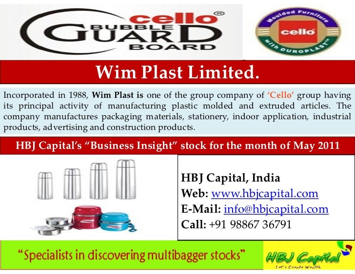 NEW Decade, FRESH In sync with growing trend in Indian sport                       Wim Plast Limited.Incorporated in 1988,...
